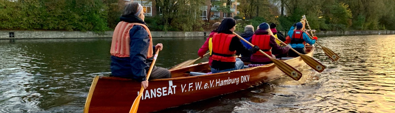Lichterfahrt - Ablegen Hanse II